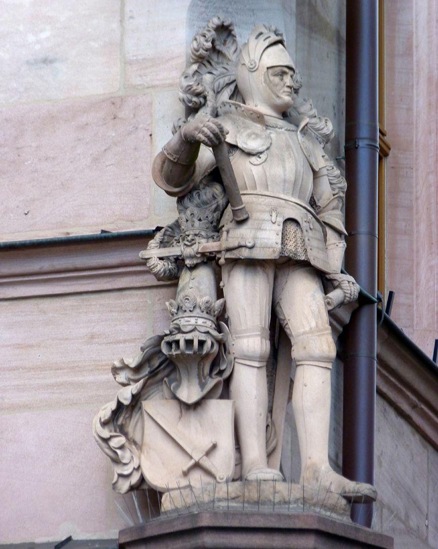 Ritter Kreß von Kressenstein Gesamtansicht