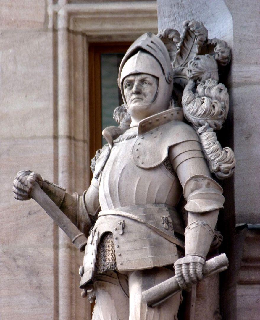 Ritter Kreß von Kressenstein Ansicht von Osten, Detail