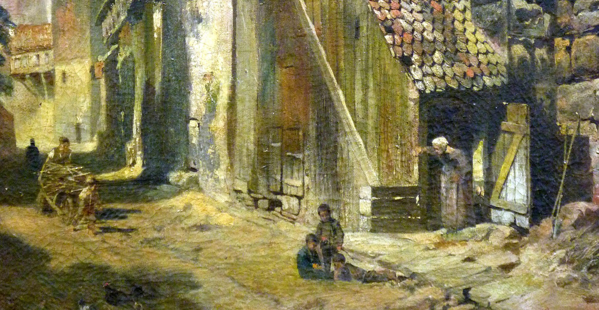 An der Maxtormauer unteres Bilddrittel