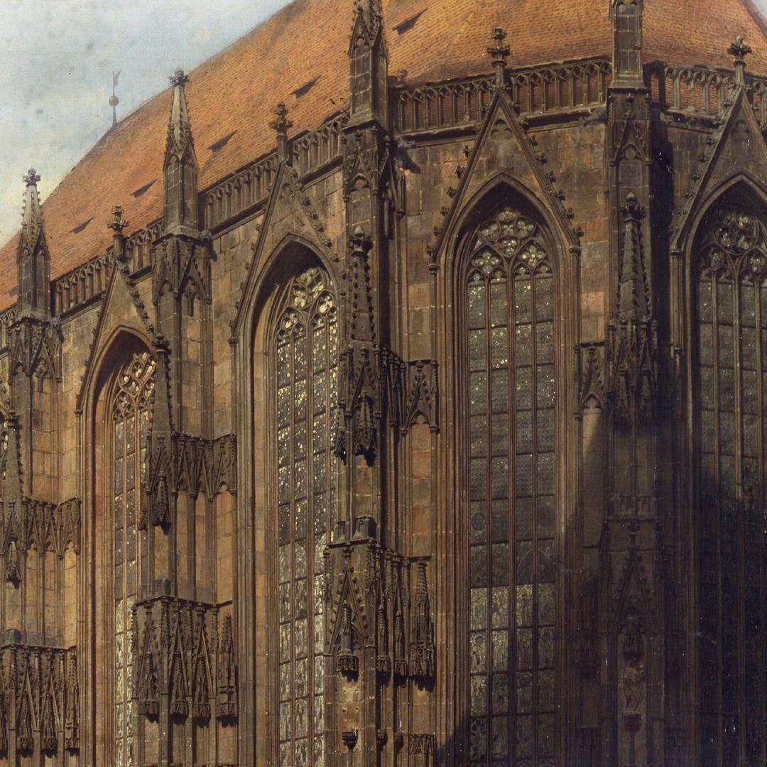 Die Alte Schau in Nürnberg Hallenchor der Sebalduskirche, Detail