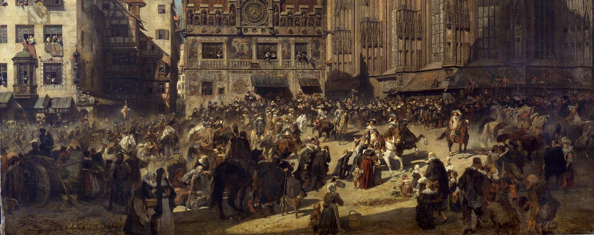 Die Alte Schau in Nürnberg untere Bildpartie