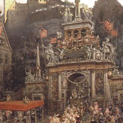 Auszug des Kaisers Matthias aus Nürnberg 1612