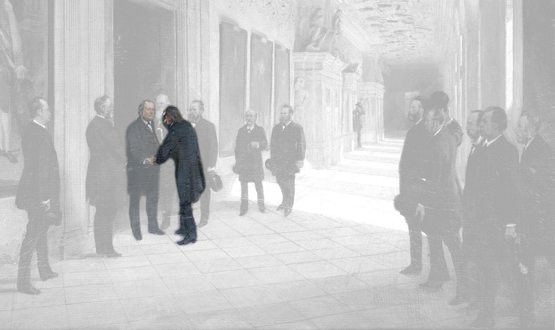 70. Geburtstag Karl Crämers Otto Erhard / 26.9.1829 Forheim im Bayrischen Kreis Schwaben – 16.9.1888 Nürnberg / königl. Advokat, Rechtsanwalt, Gemeindebevollmächtigter, Landrat, langjähriger Reichstagsabgeordneter