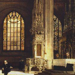 Das Sakramentshaus von Adam Kraft in der Lorenzkirche