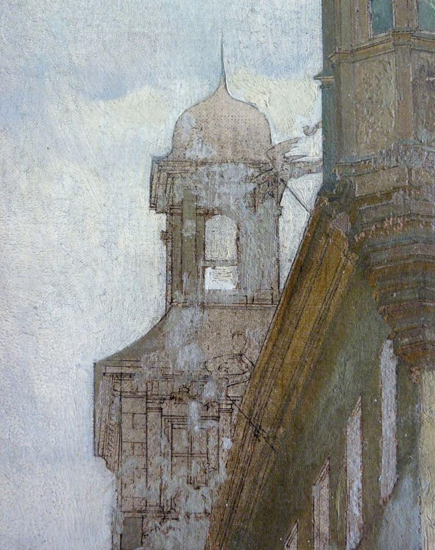 Schöner Brunnen und Meyer´sches Haus Detailansicht, Rathaus, Pavillonähnlicher Dachaufbau