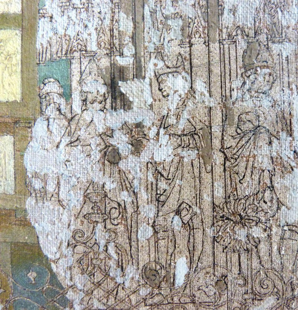 Schöner Brunnen und Meyer´sches Haus Brunnenfiguren, Detail