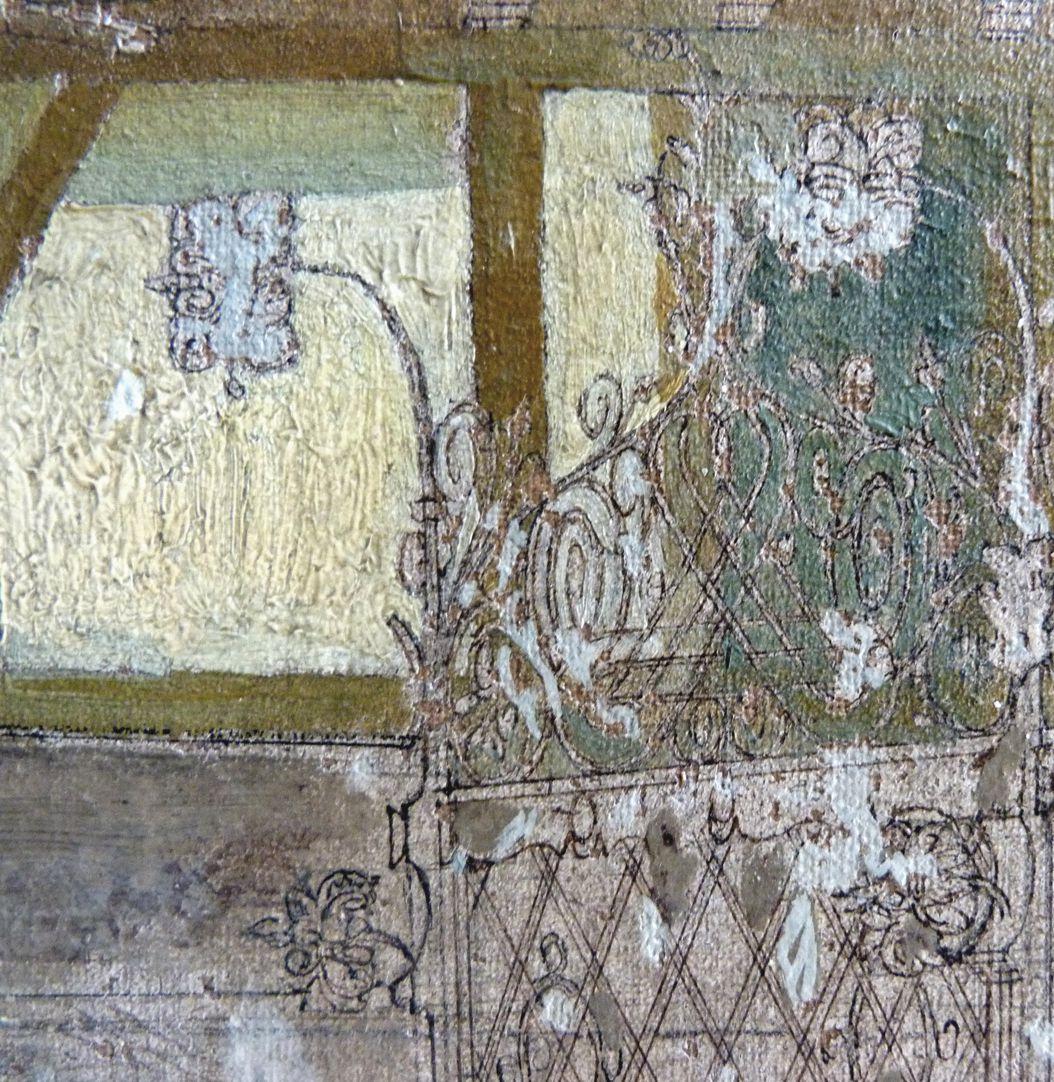 Schöner Brunnen und Meyer´sches Haus Brunnengitter, Detail