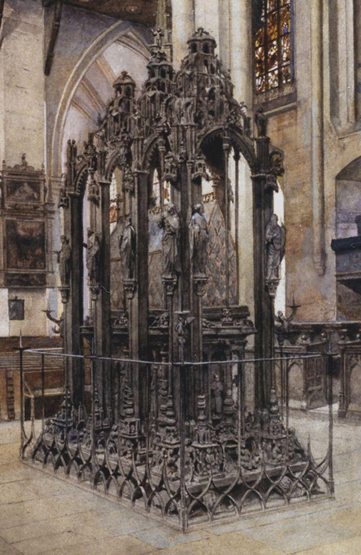 Sebaldusgrab im Ostchor Sebaldusgrab