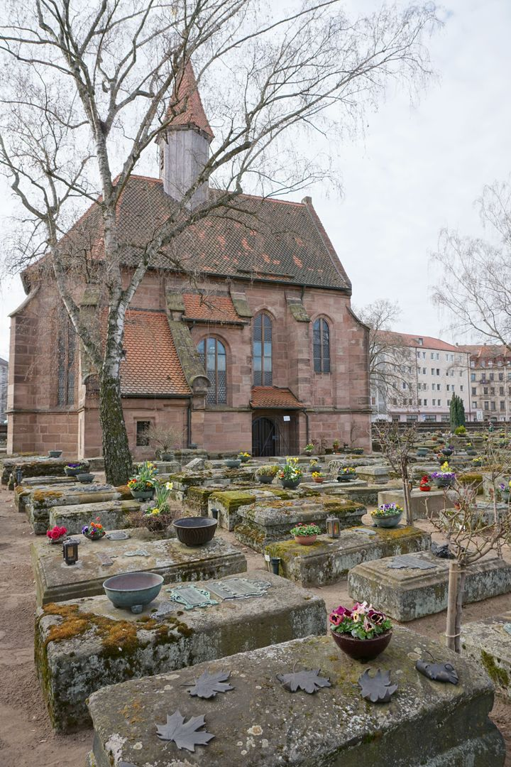 Rochusfriedhof Grabstätte 139 Lage im Gräberfeld
