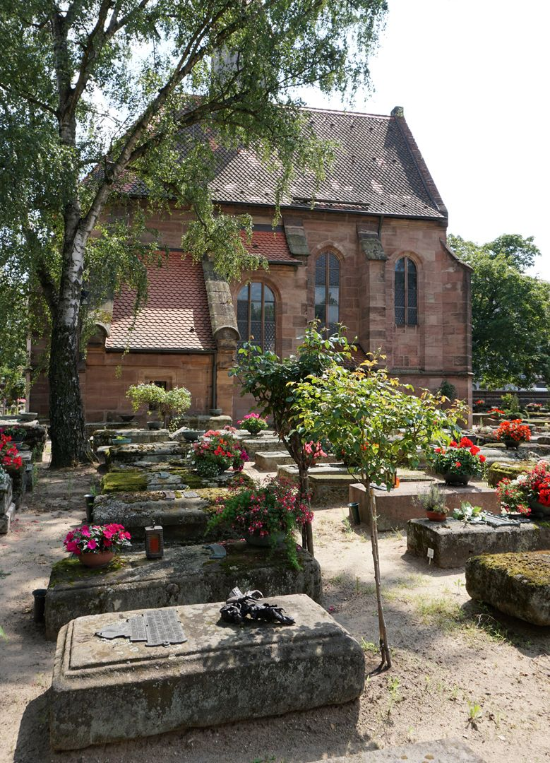 Rochusfriedhof Grabstätte 209 Lage im Gräberfeld