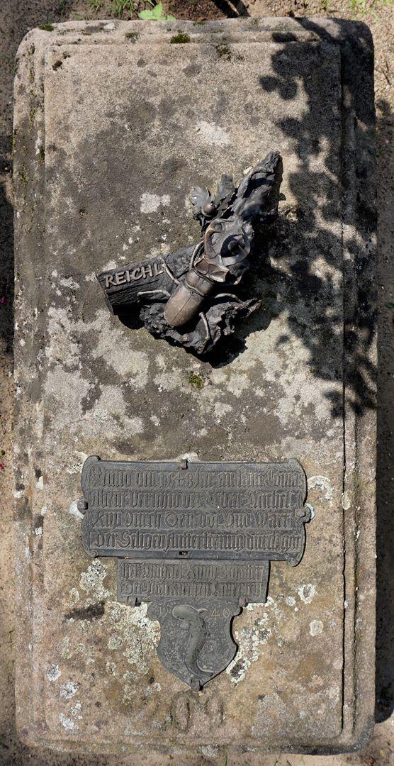 Rochusfriedhof Grabstätte 209 Ansicht von oben