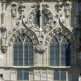 Obergeschoss der Mittelachse am Regensburger Dom