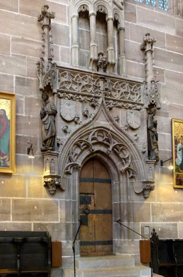 Portal der Sakristei Portal der Sakristei