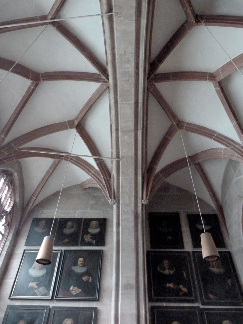 Obere Sakristei, Gewölbe Gewölbe