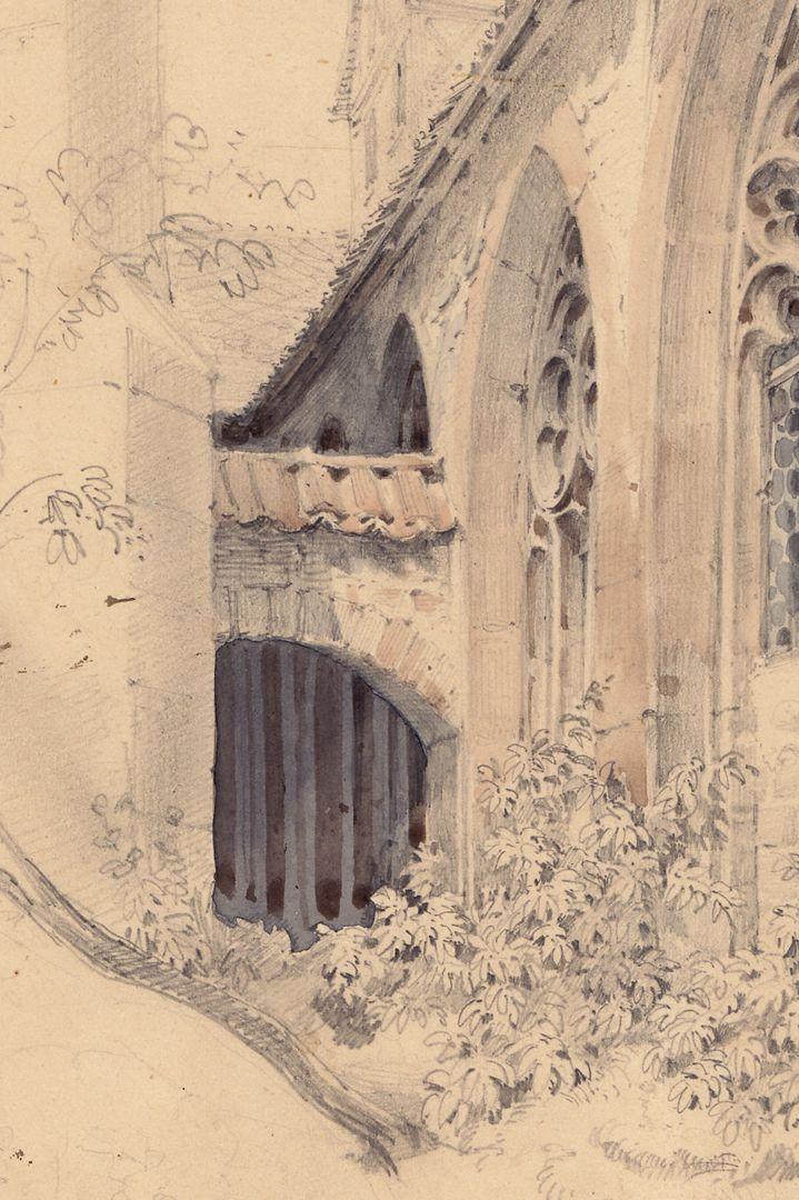 Karthäuser Kloster in Nürnberg / Studie Detail