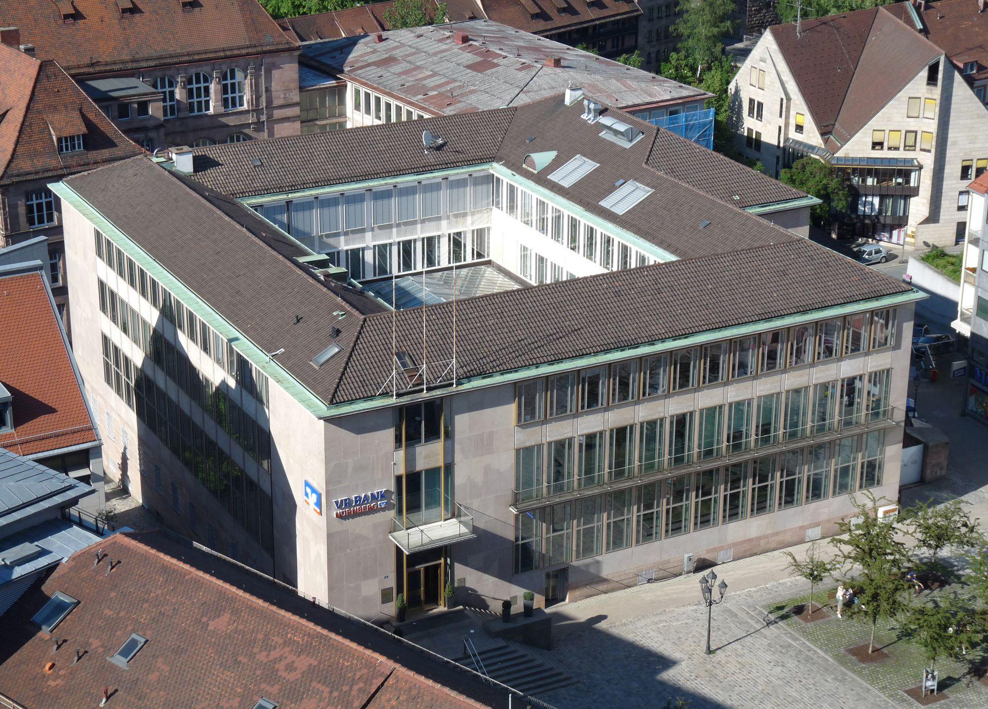 ehem. Bayerische Nationalbank Blick von oben