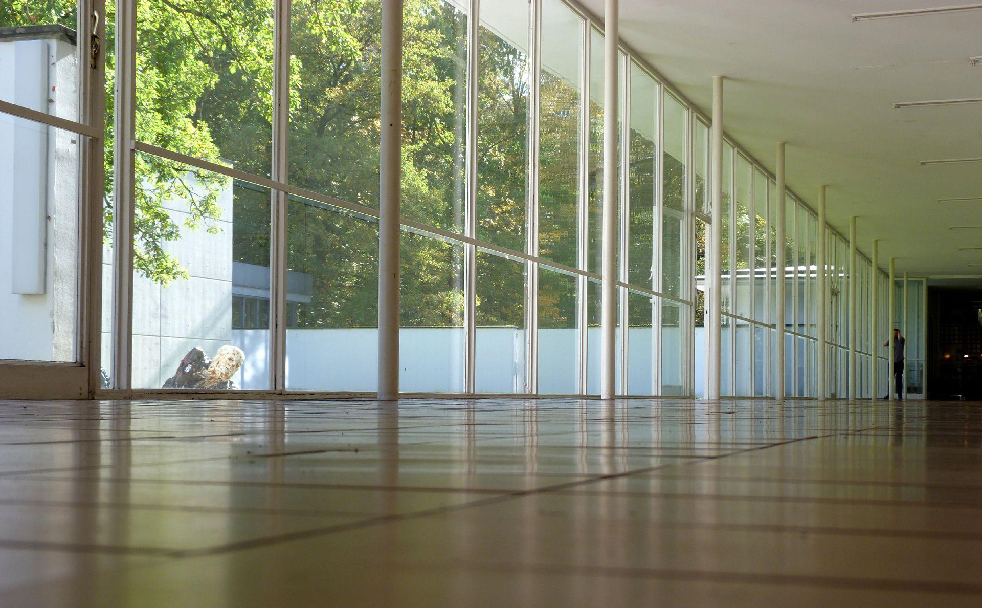 Akademie der Bildenden Künste Korridor zur Mensa