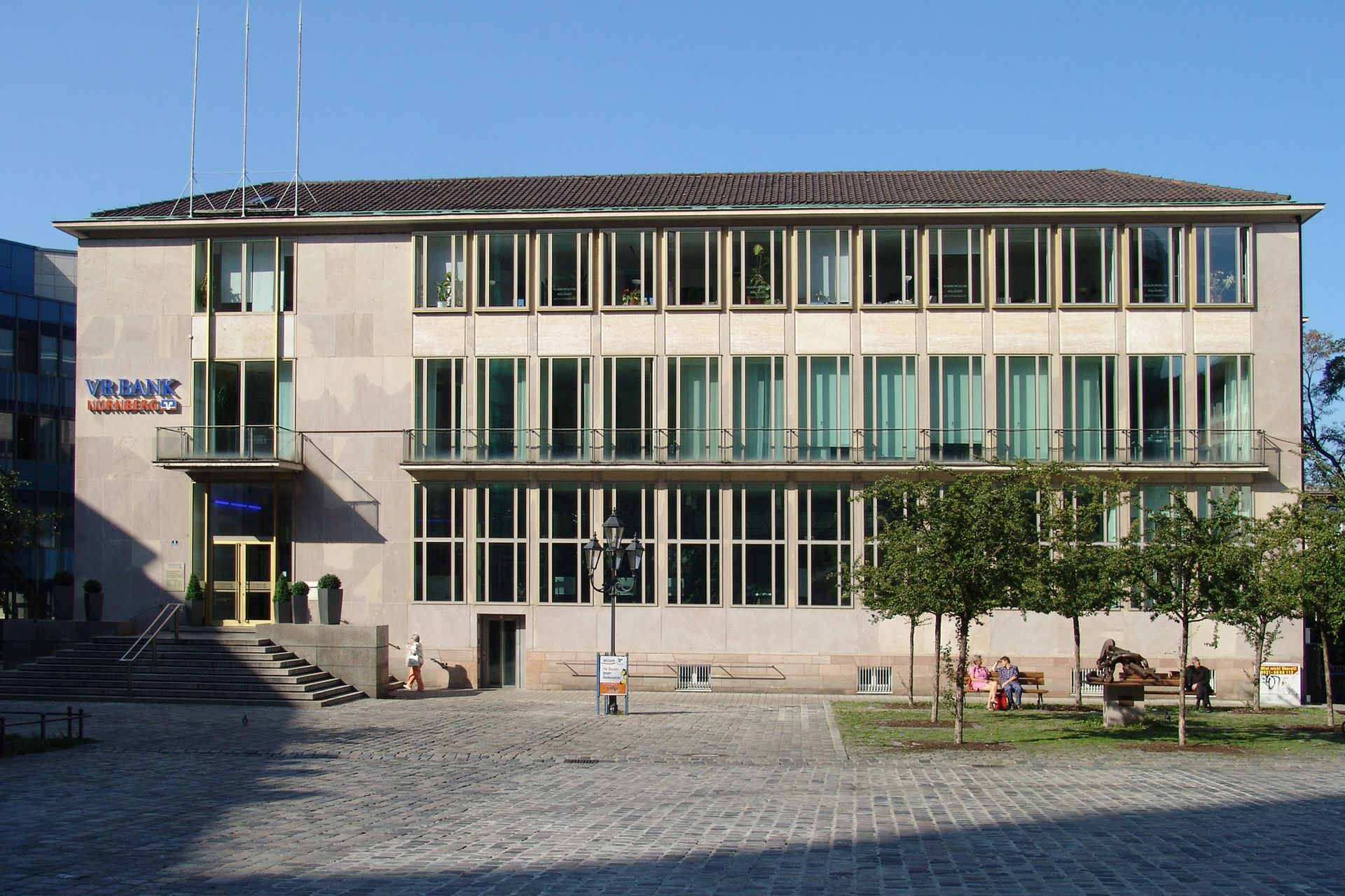 ehem. Bayerische Staatsbank Fassade