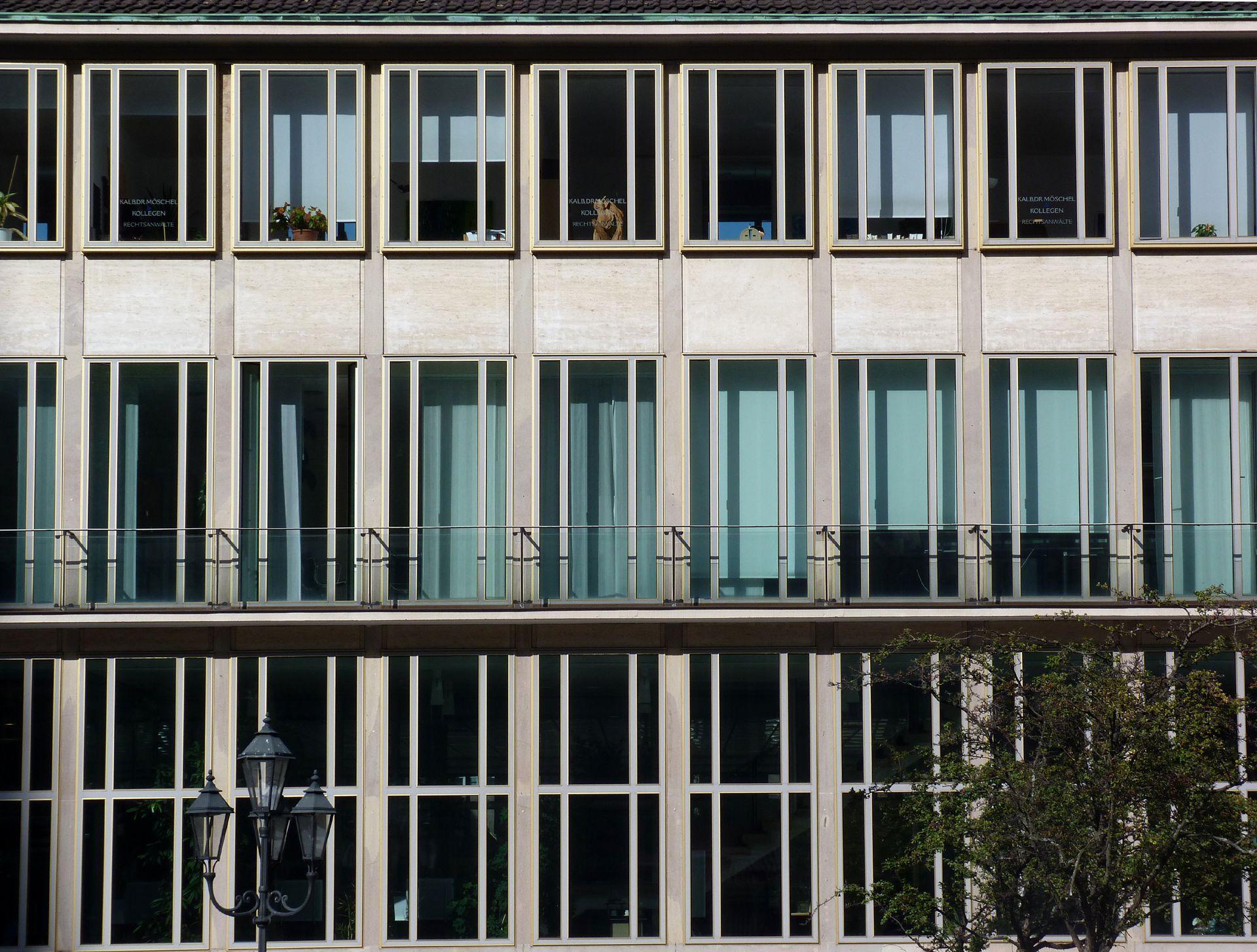 ehem. Bayerische Nationalbank Fassadendetail