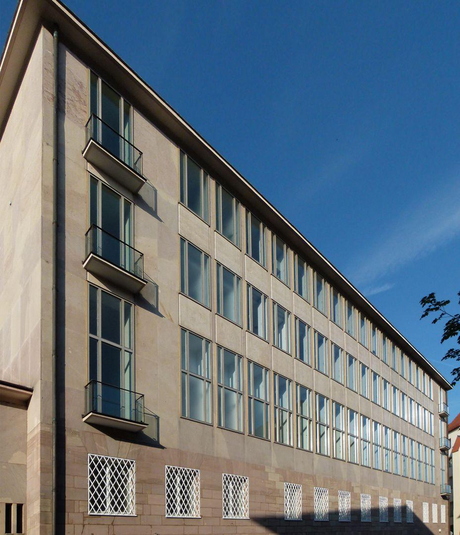 ehem. Bayerische Nationalbank Rückfassade von O nach W