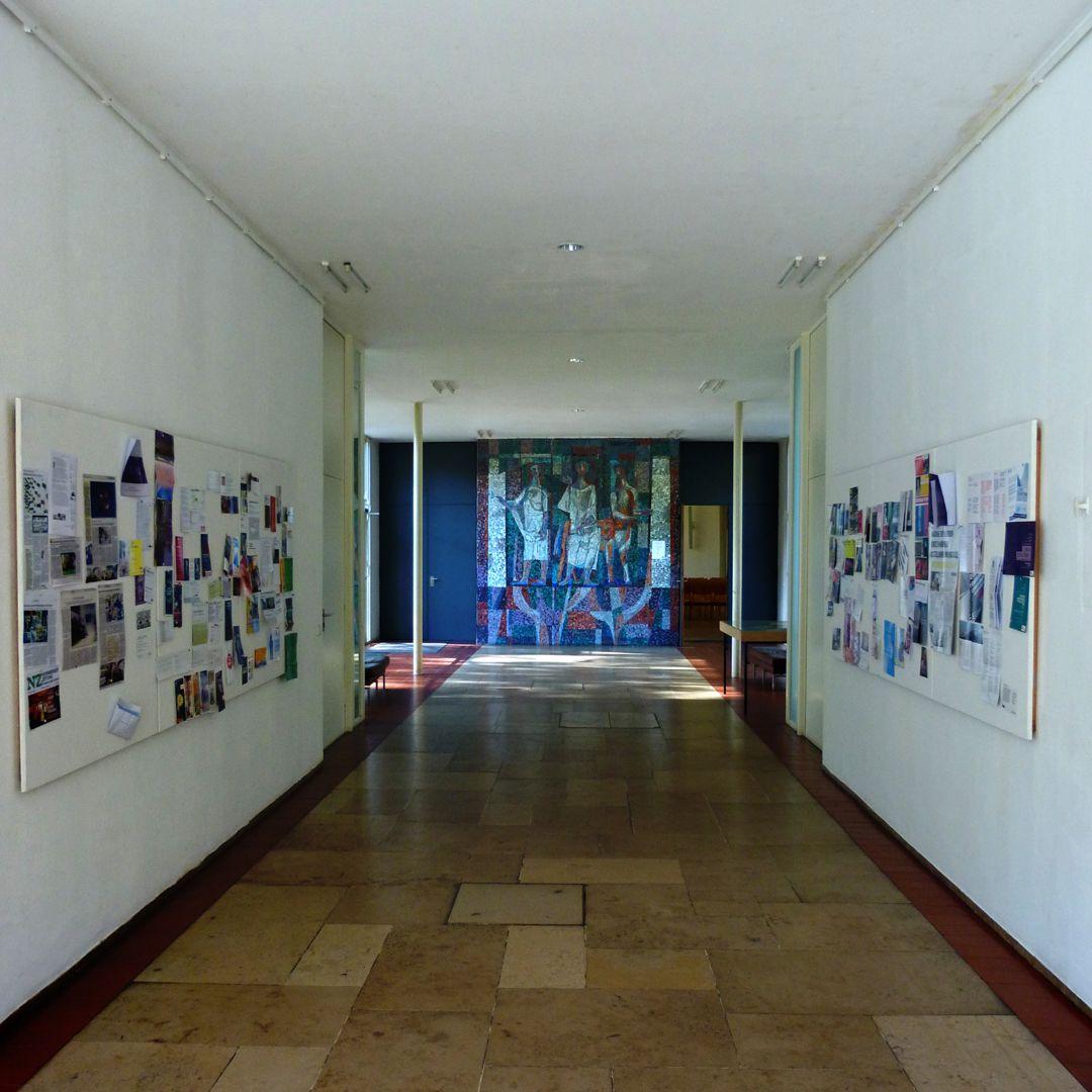 Akademie der Bildenden Künste Korridor zum Hörsaal