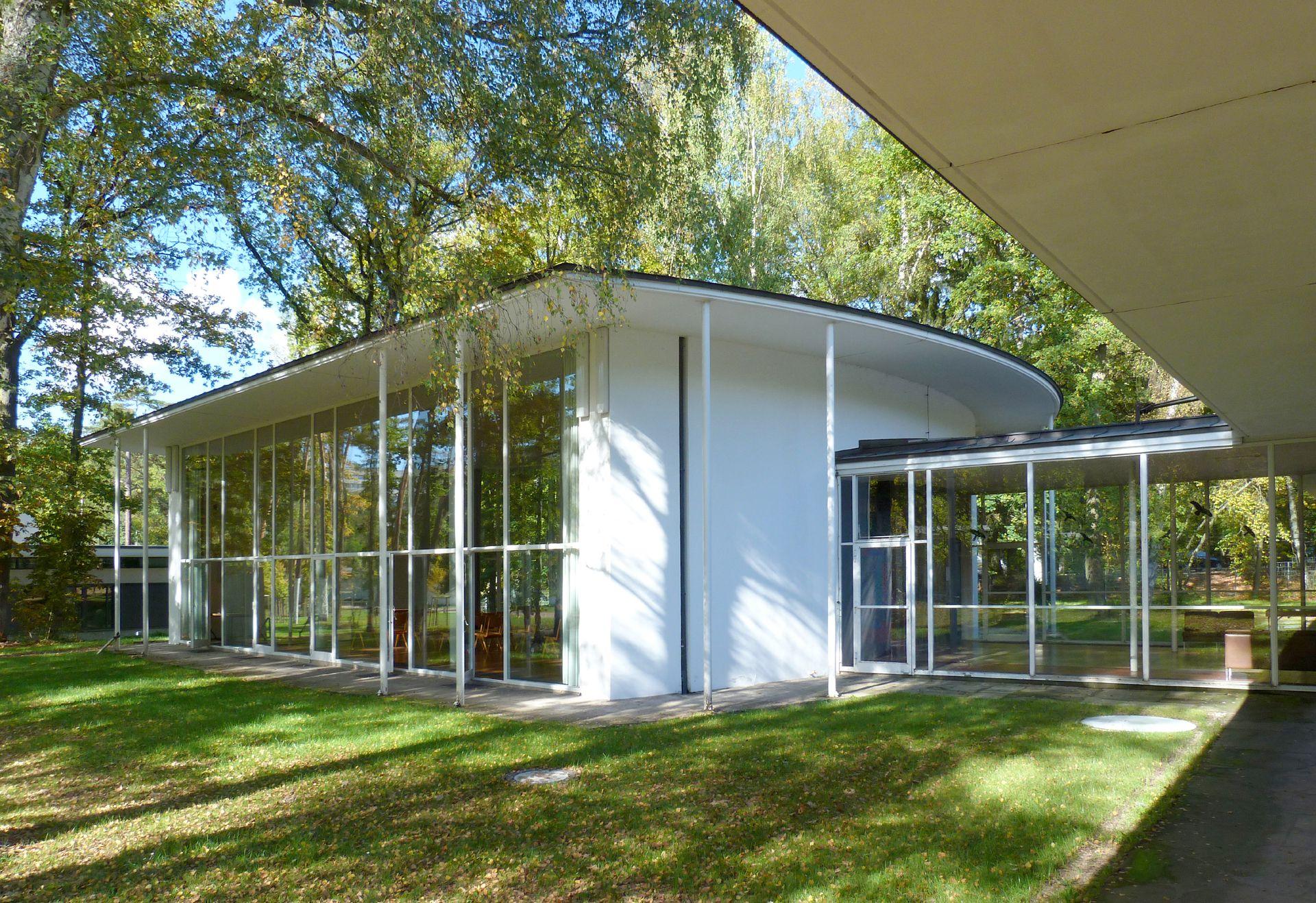 Akademie der Bildenden Künste Hörsaal, Außenansicht