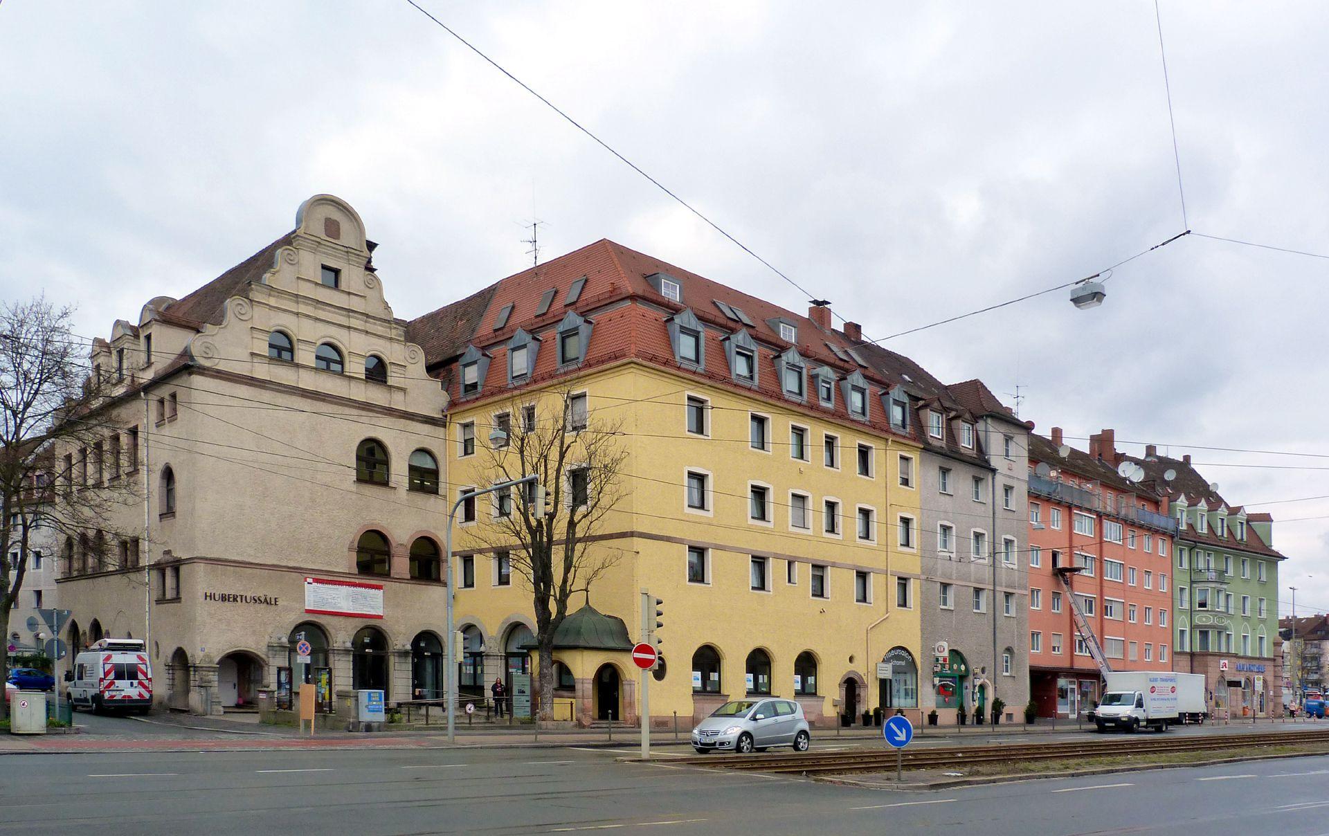 Dianablock Hubertussaal an der Dianastraße