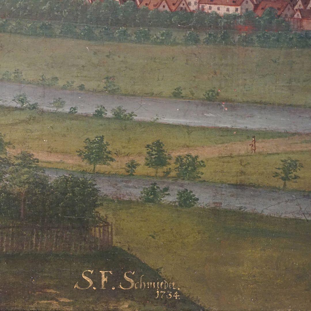 Nürnberg Künstlersignatur