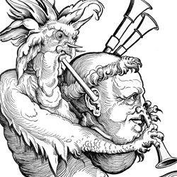 Der Teufel mit der Sackpfeife
