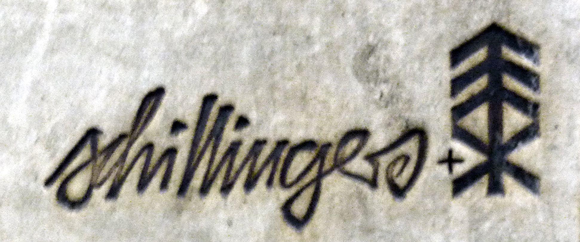 Keramikrelief der Nürnberger Altstadt Unterschruft von Heinz Schillinger + Elly & Wilhelm Kuch