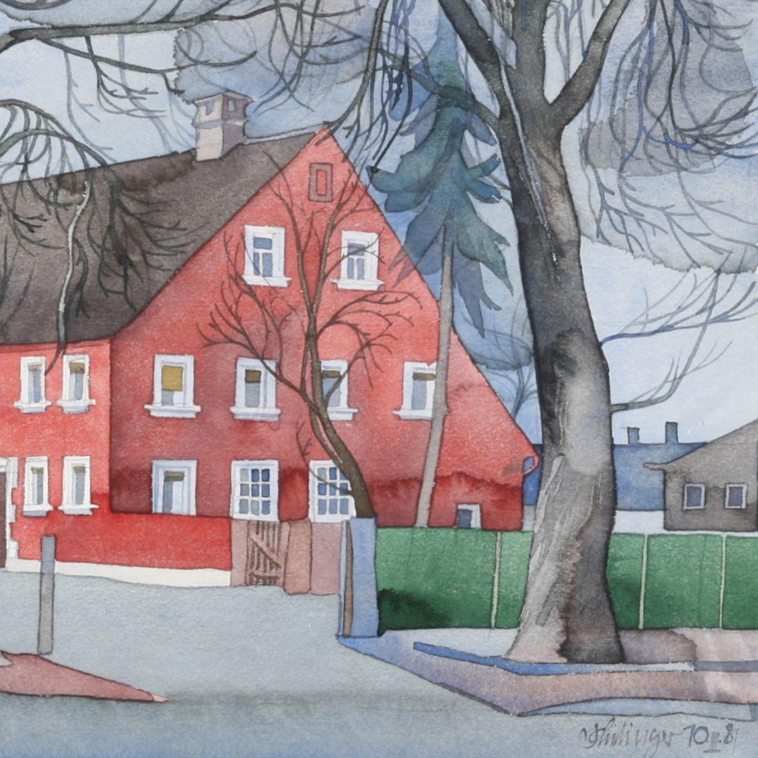 Rotes Haus Detailansicht