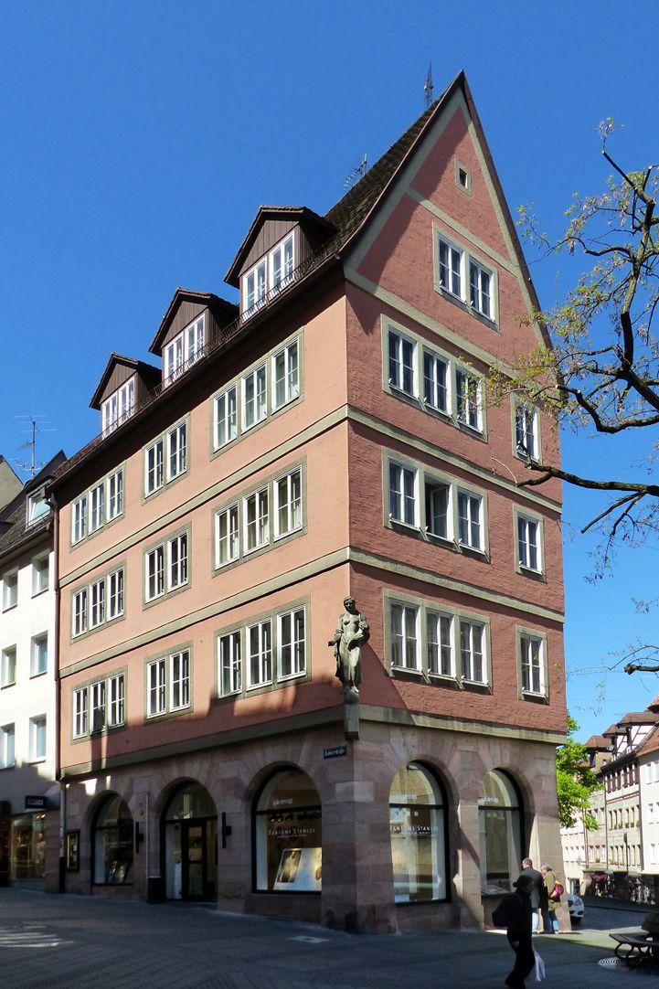 Geschäfts- und Wohnhaus Kaiserstraße Gesamtansicht von Südost