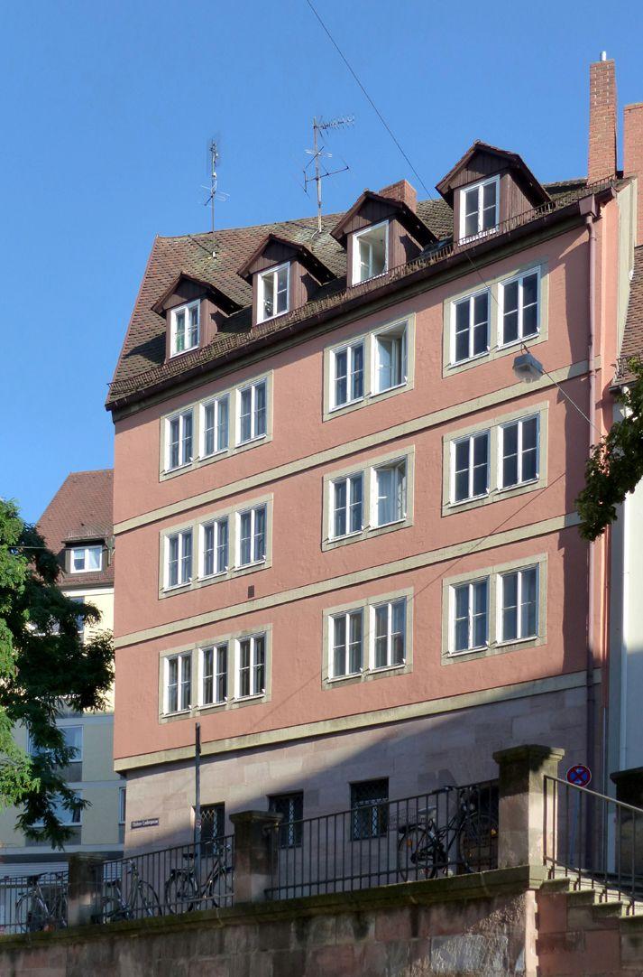 Geschäfts- und Wohnhaus Kaiserstraße Blick von der Oberen Wörthstraße