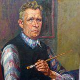 Selbstportrait, Hermann Thomas Schmidt