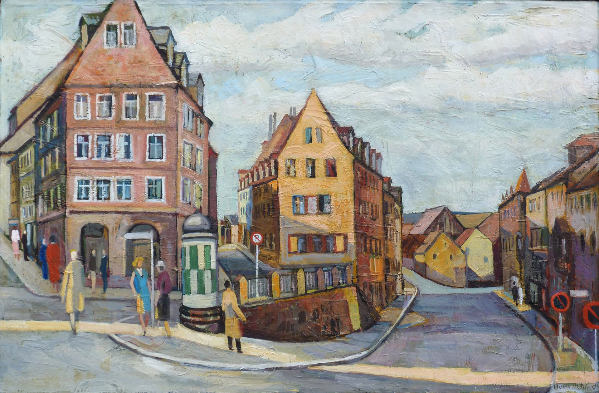 Kaiserstraße / Obere Wörthstraße Kaiserstraße / Obere Wörthstraße