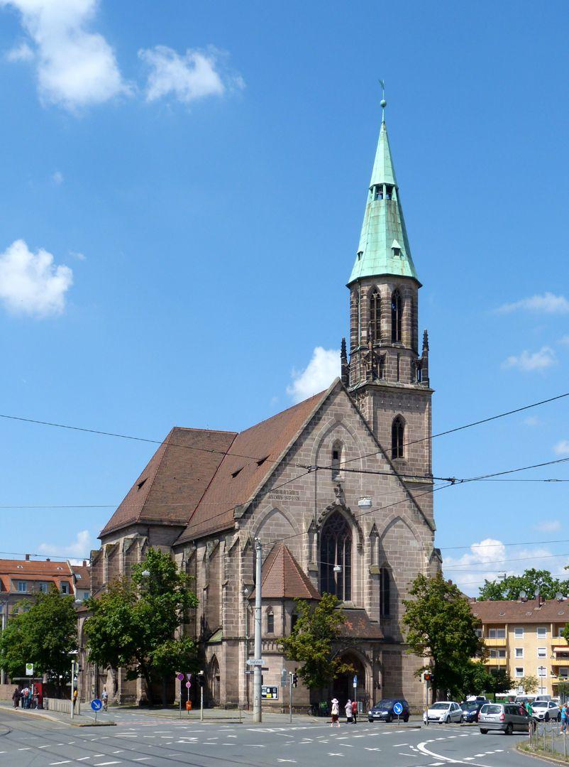 St. Peter Ansicht von SO, Fassade