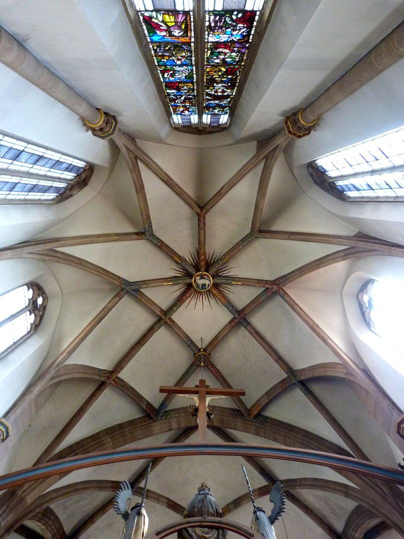 St. Peter Chorgewölbe