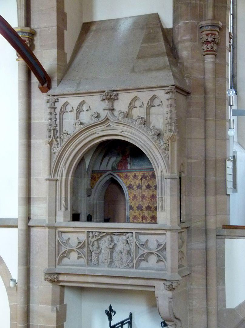 St. Peter Binnenchörlein an der Chornordseite