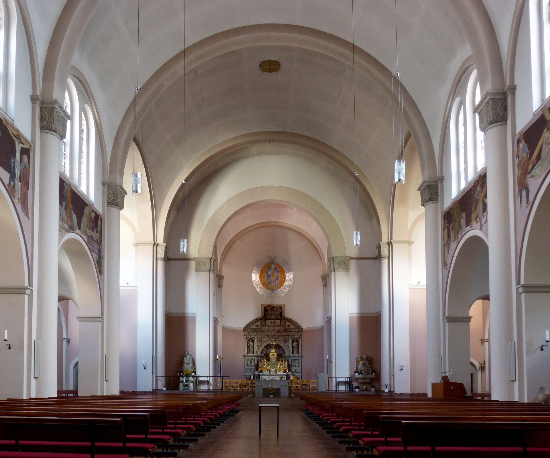 St. Anton Blick zum Altar