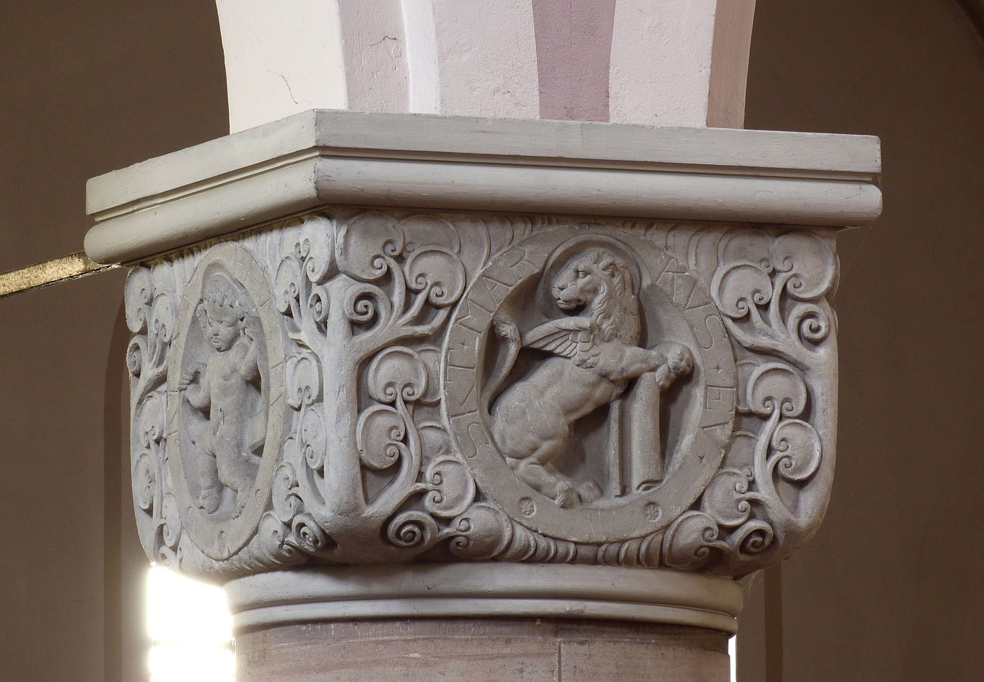 St. Anton Würfelkapitell