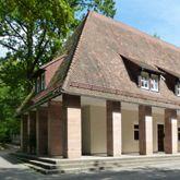 Tiergarten, Verwaltungsgebäude am Haupteingang