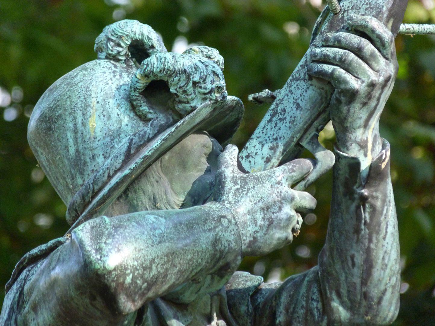 Schnepperschützenbrunnen Figurdetail