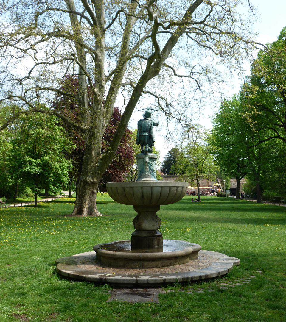 Schnepperschützenbrunnen Rückansicht