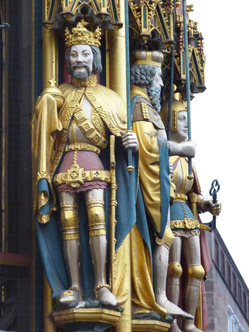 Schöner Brunnen König von Böhmen