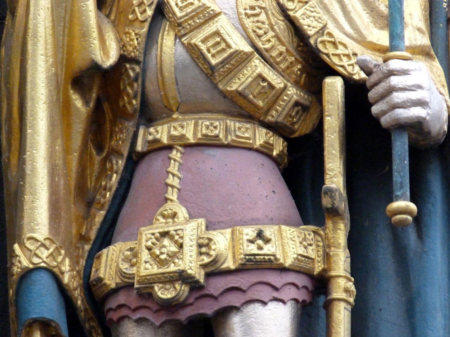 Schöner Brunnen König von Böhmen, Detail