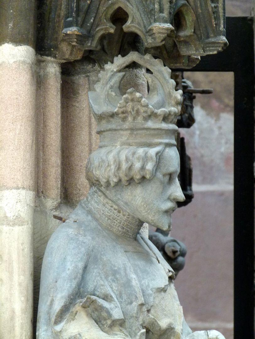 Schöner Brunnen Gottfried von Bouillon