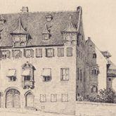 Pfarrhaus von St. Egidien mit Pfarrgarten