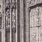 Nördliche Tür des Hauptportals der Lorenzkirche