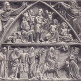 St. Lorenz, Tympanonregister des Hauptportals