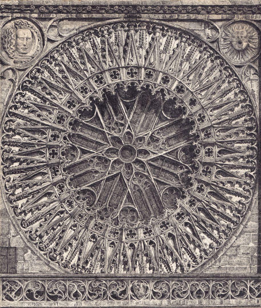 Rosette der Lorenzkirche Rosette der Lorenzkirche